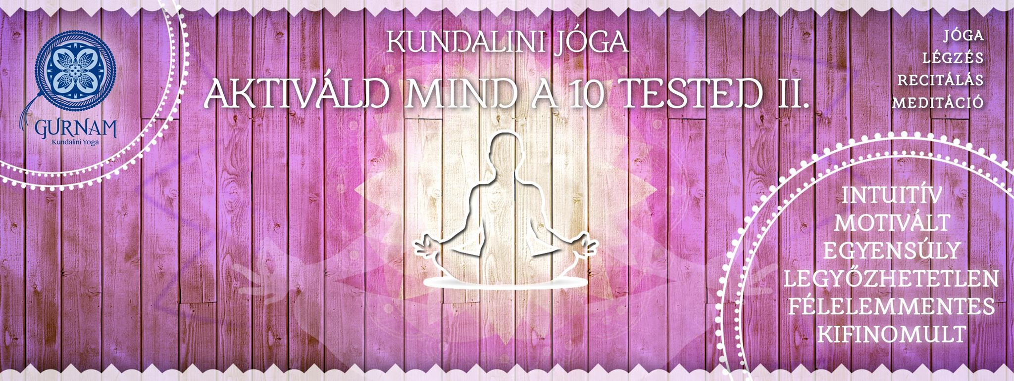 kundalini jóga workshop